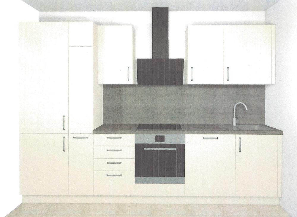 Einbauküche (Zeichnung)