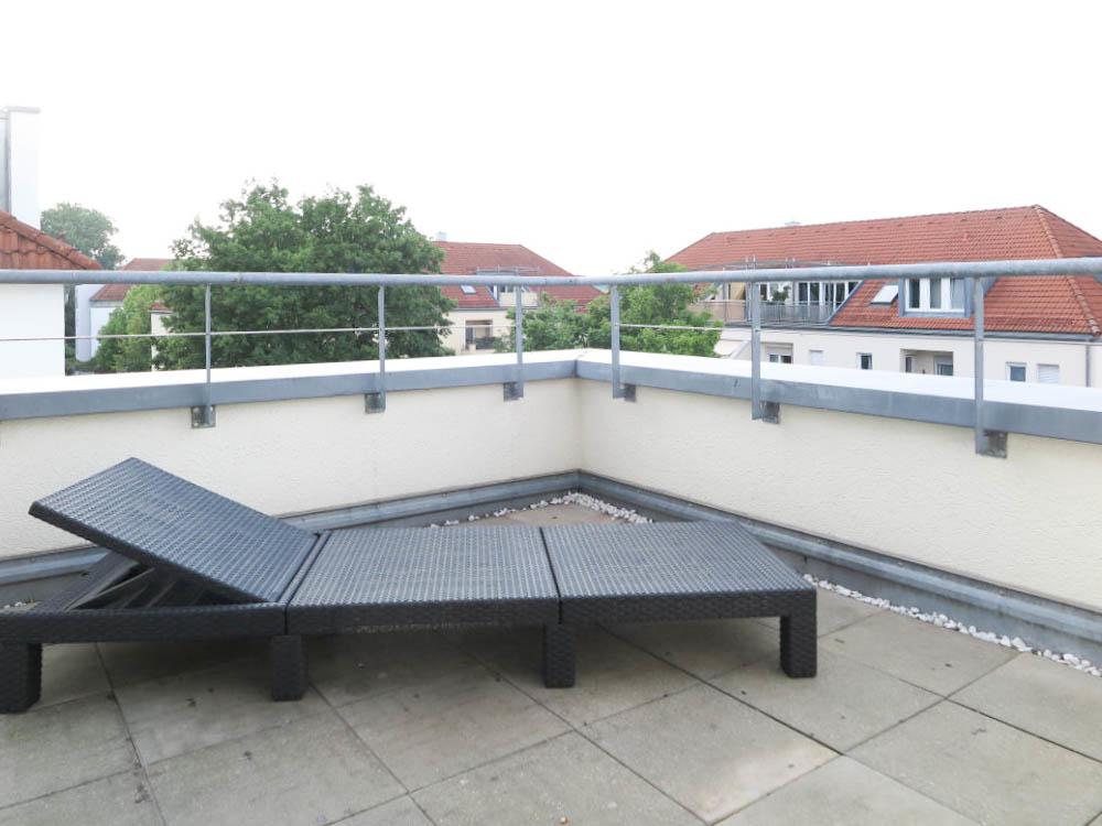 Dachterrasse Schlafen