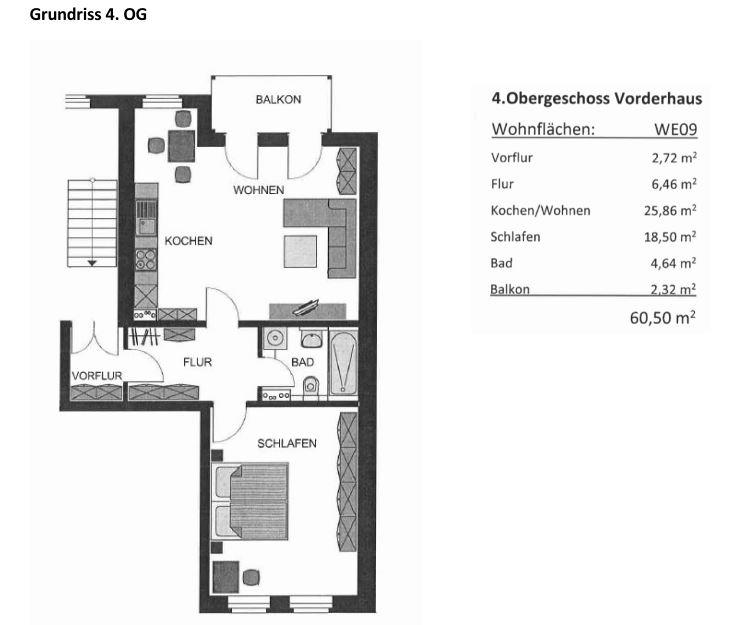 Grundriss kleine Wohnung
