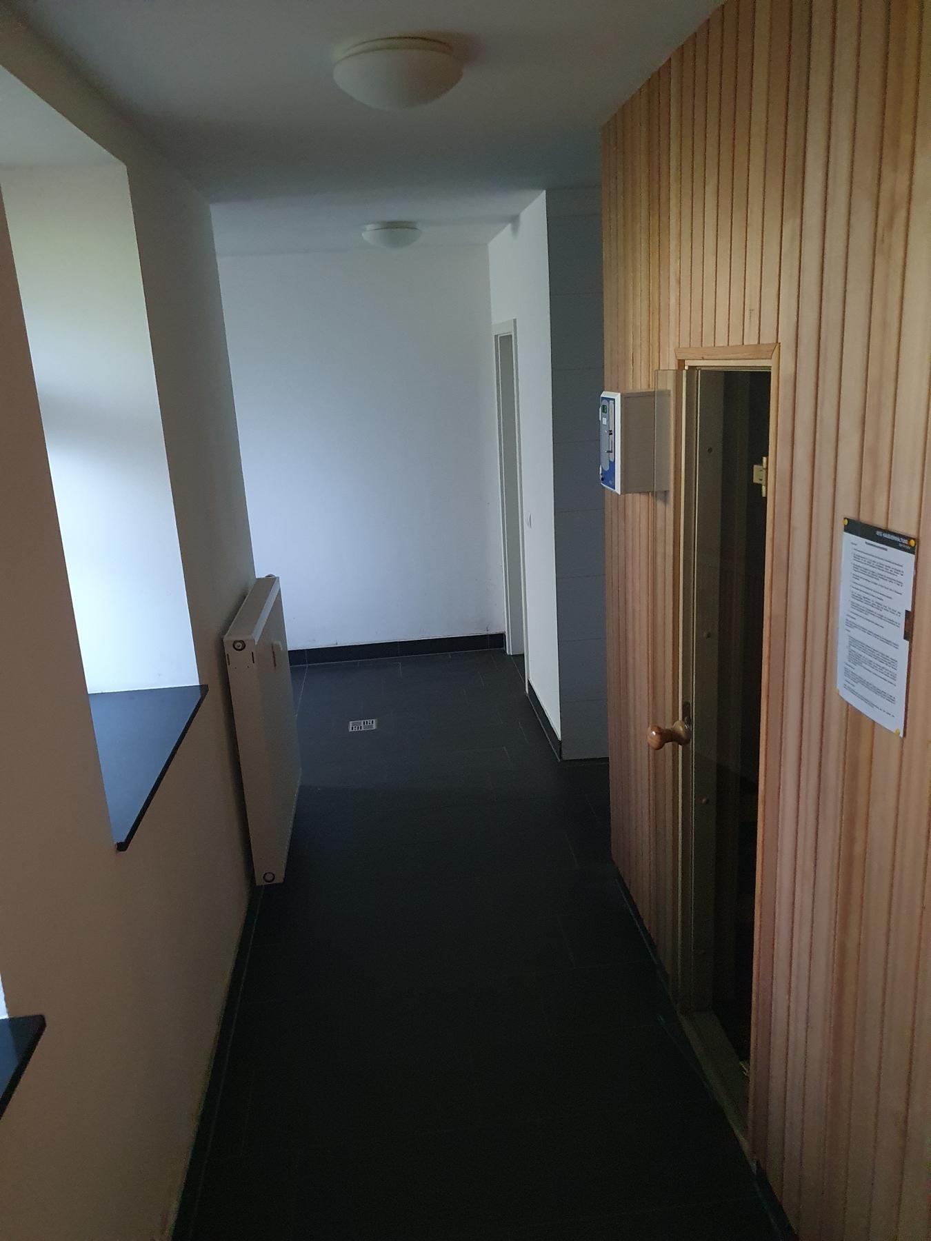 Eingang Saunabereich