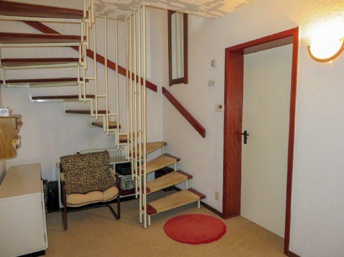 Treppe im Untergeschoss