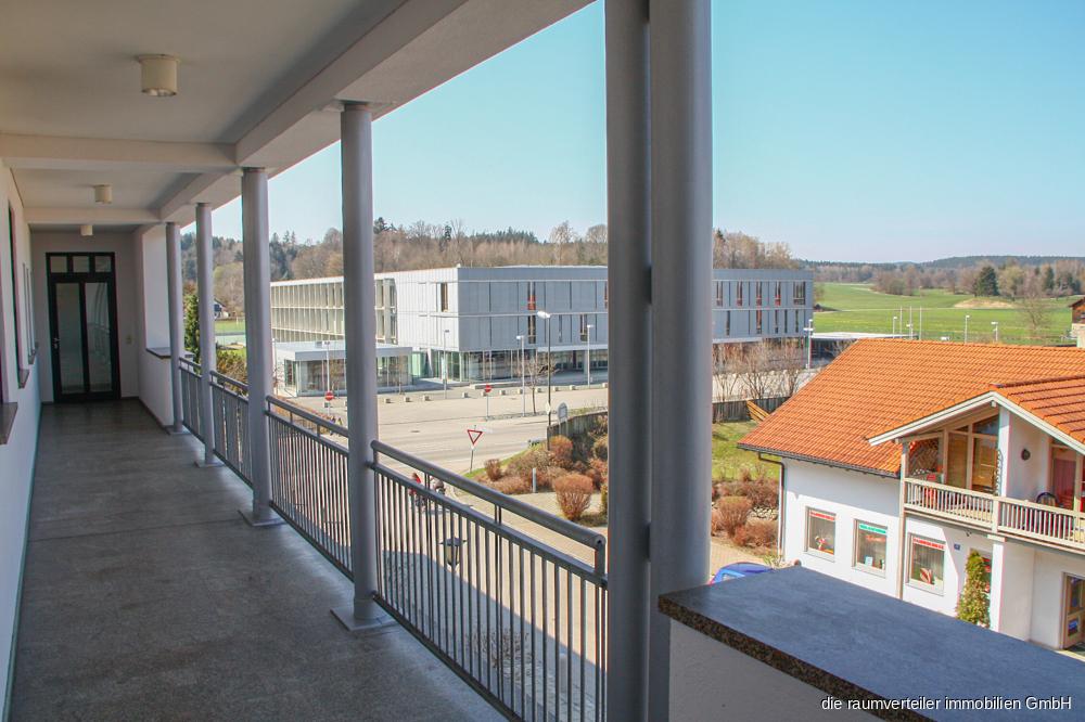 Zugang Wohnung & Ausblick