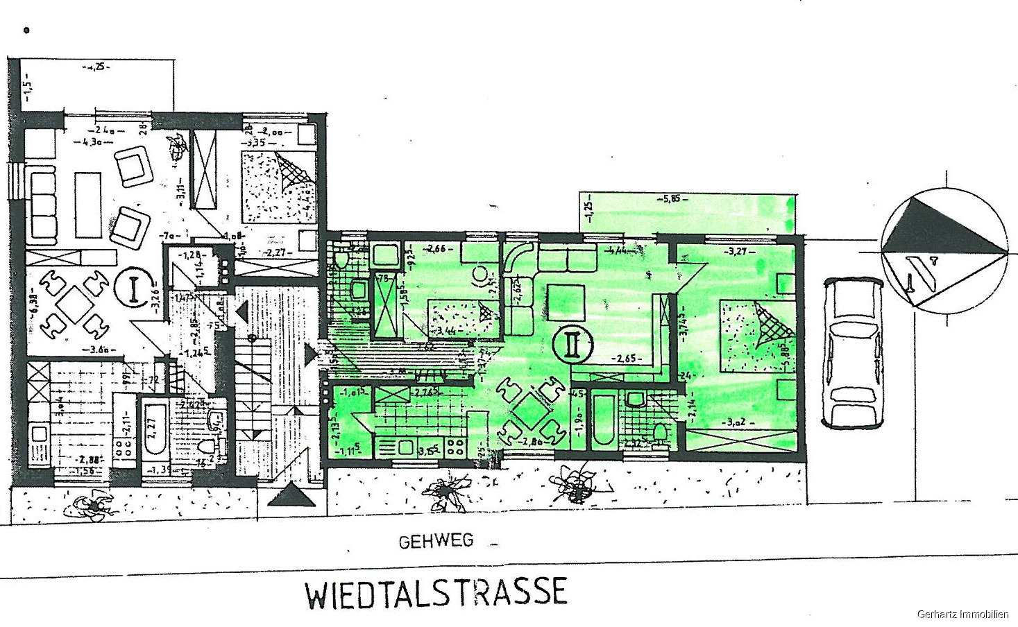 Keller-/Garagengeschoss..