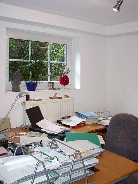 Arbeitszimmer im Souterrain