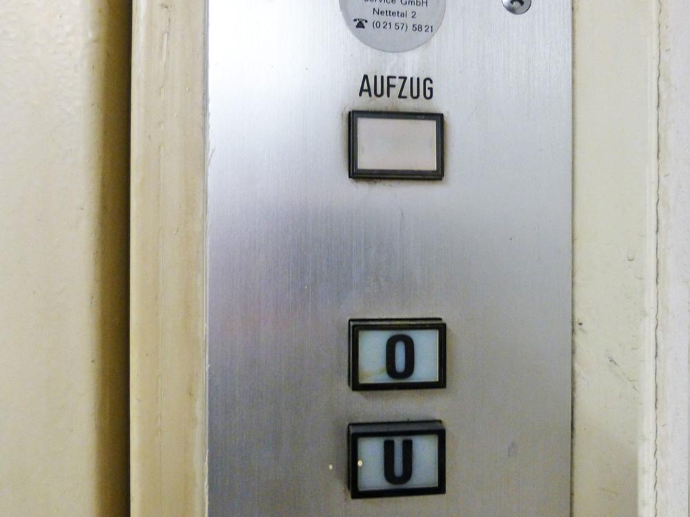 Detail Lasten-Aufzug