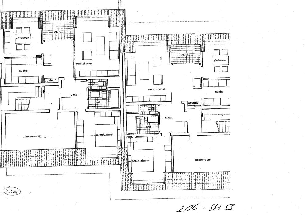 Grundriss 2. OG 51-53