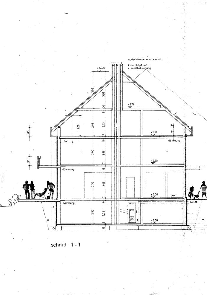 Schnitt Haus 51-53