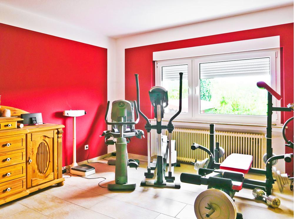 Fitnessraum/Schlafen