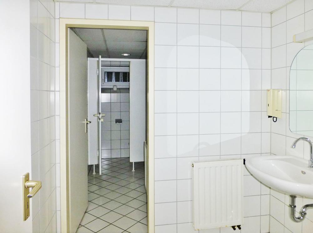 WC-Anlagen im UG