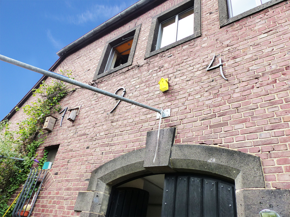 Detail Eingang