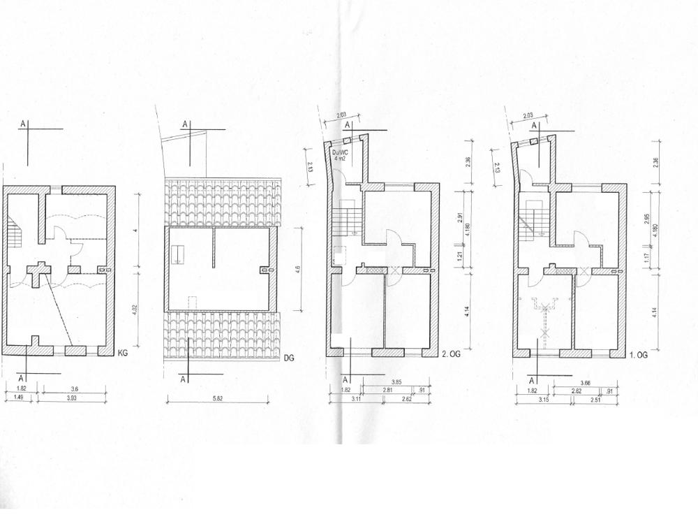 Grundriss Haupthaus