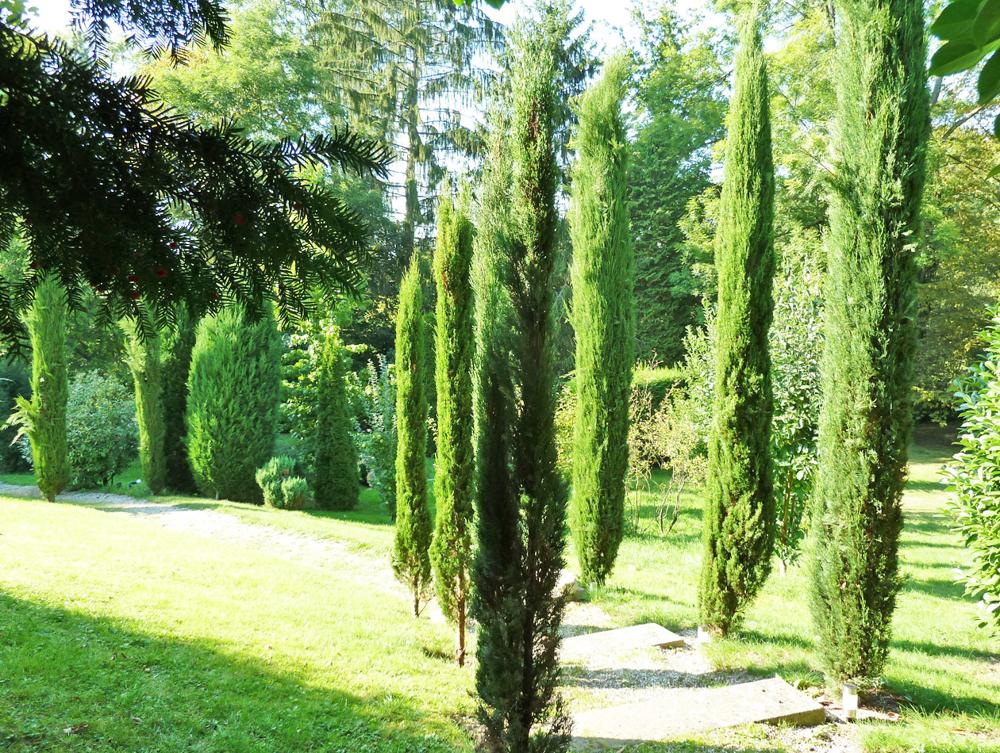Teilans. Gartenanlage