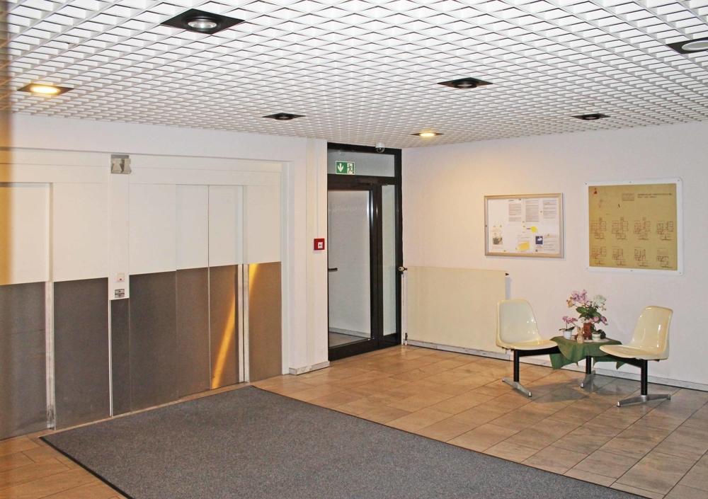 Eingang/ Aufzüge