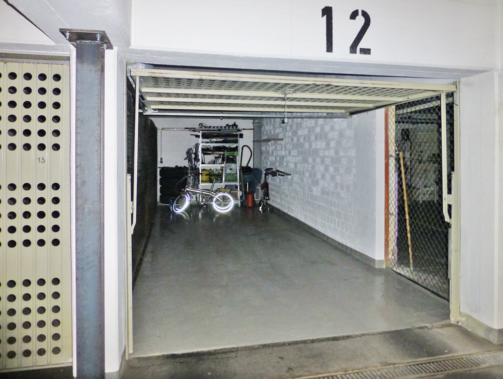 21 m² Garage optional