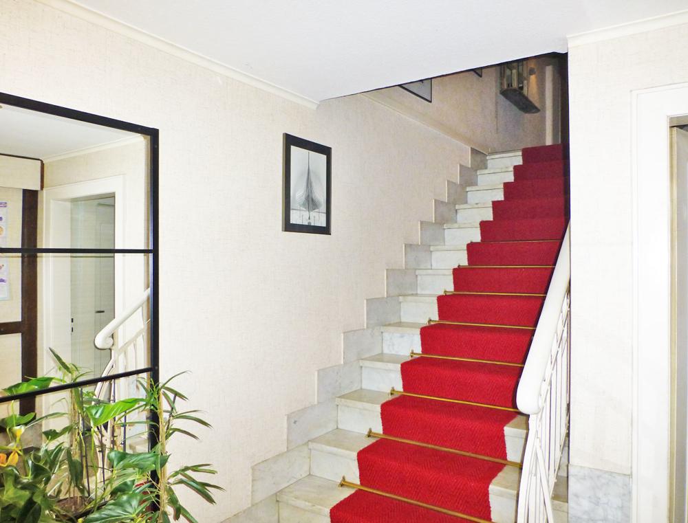 Treppe zur bel étage