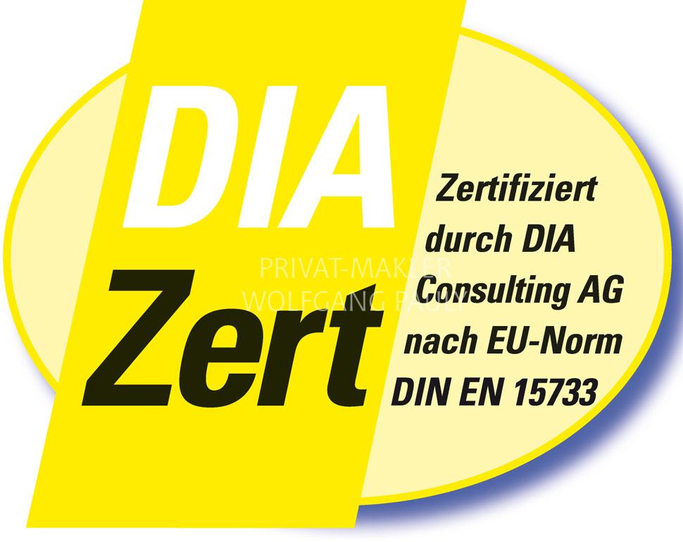 Zertifiziert von DIA