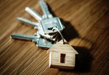 Schlüsselbund mit Hausanhänger