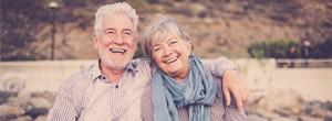 Glückliches Rentnerpaar