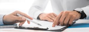 Ausfüllen der Kontaktinformationen für den Immobilienverkauf