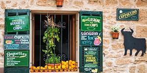 Geschäft auf Mallorca