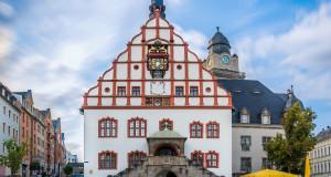 Beeindruckendes Gebäude in Plauen