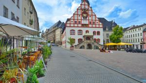 Altstadt in Plauen