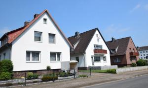 Siedlung Mehrfamilienhäuser