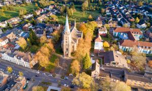 Aachen Brandt im Herbst