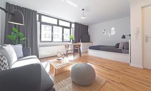 Möblierte Wohnung in Düsseldorf