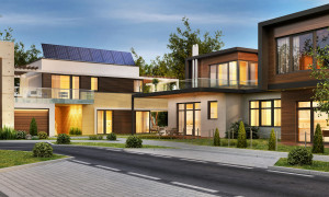 Modernes Anwesen