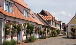 Häuser in Holm