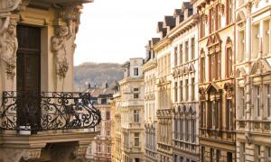 Altbauten Außenfassade