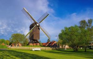 Windmühle in Papenburg