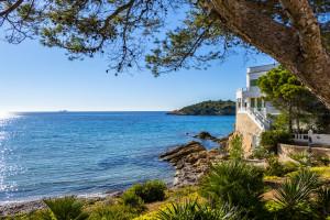 Küstenblick von Mallorca
