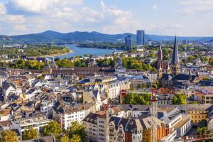Luftaufnahmen von Bonn