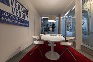 Beratungsraum Immobilienbüro
