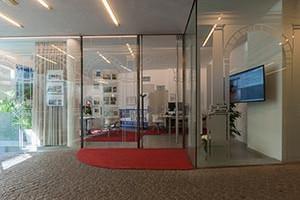 Eingangsbereich Immobilienbüro