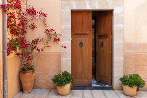 Offenstehende Tür