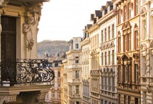 Außenfassaden von Altbauten