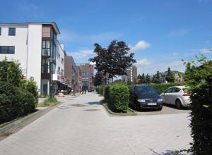 Henstedt-Ulzburg Blick zum Rathaus