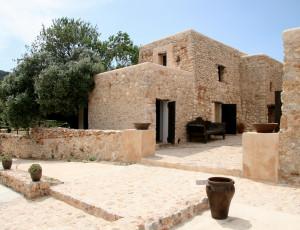 Steinhaus auf Ibiza