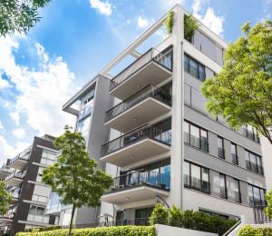Modernes Appartmentgebäude