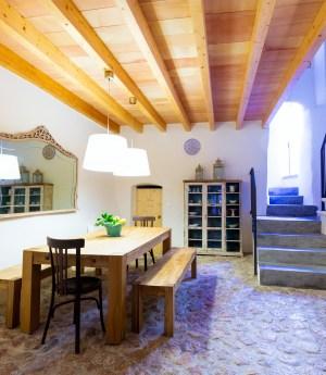 Esszimmer auf Mallorca