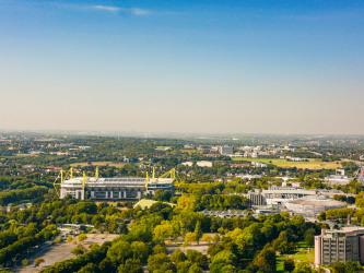 Panorama von Dortmund