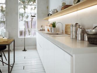 Moderne Küche im Altbau