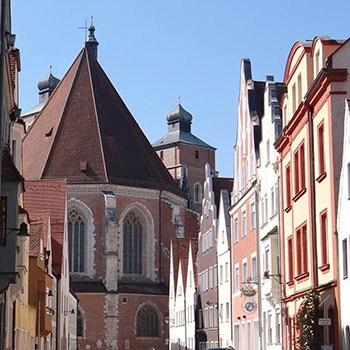 Die Altstadt in Ingolstadt