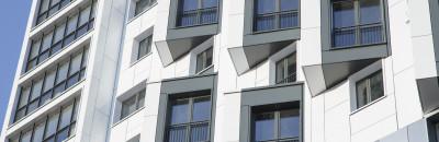 Modernes Apartment-Gebäude