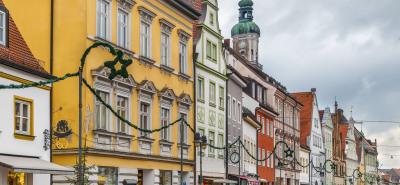 Stadtfassade Freising