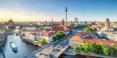 Berlin Mitte mit Blick auf Fernsehturm