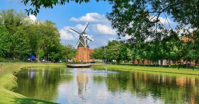 Stadtpark im Emsland